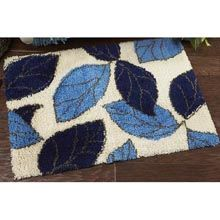 Leaves Latch Hook Rug Kit - Herrschners