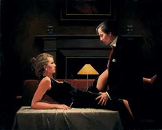 Passion Overflow by Jack Vettriano