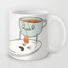 Buy Tea Baggin' by Phil Jones as a high quality Mug. Worldwide shipping available at Society6.com. Just one of millions of products available.