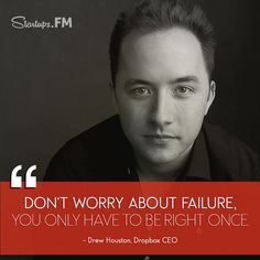"Drew Houston: The man behind one of the most popular cloud names today ""Dropbox"" #leader"