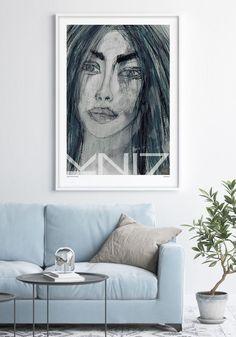 VuorjokiDesign-poster-art-print–70×100-B3-Obsession-shop Statement Wall, Scandinavian Interior, Art Prints, Frame, Artist, Shop, Poster, Painting, Design