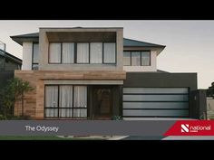 The Odyssey is double storey design at its best and is packed with features to please the whole family. 2 Bed House, One Bedroom House, My House, Contemporary House Plans, Modern House Plans, Modern House Design, Double Storey House Plans, 2 Storey House Design, My Dream Home