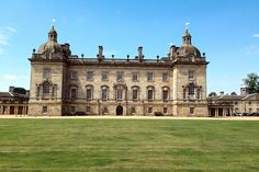The magnificent Palladian façade of Houghton Hall. Houghton Hall, King's Lynn, Norfolk; +44-148-552-8569; houghtonhall.com.