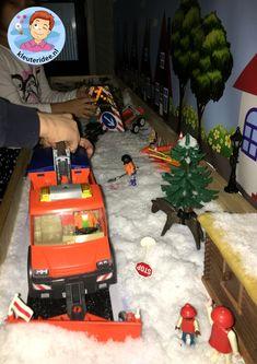 Thematafel sneeuw winter voor kleuters, kleuteridee 2