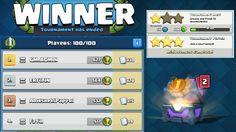 Clash Royale - 500 Gems for Completing Tournament Host Achievement & Ann...