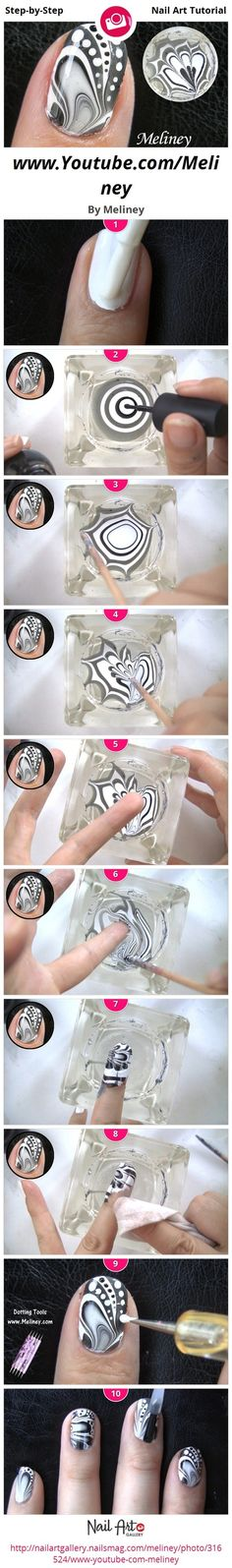 Nail techniques tutorial .. ~ ~ DIY1.2.3 # ...