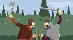 Vikings - KS2 History - BBC Bitesize History Class, World History, Vikings Ks2, Vikings For Kids, British, Viking Warrior, Religious Education, Anglo Saxon, Ancient History