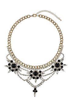 OCT 2013-Premium Crystal Rhinestone Collar