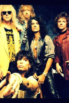 "Aerosmith- Joe Perry and Steven Tyler met to form Aerosmith in Sunapee and as they say....""the rest is history"""
