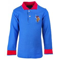 Royal Blue Polo USPA Embroidery T-Shirt. Boys polo shirt, £8.99. Get 20% off your shopping, use code KW022017 Lots more in stock. Fast delivery, Free UK standard delivery.