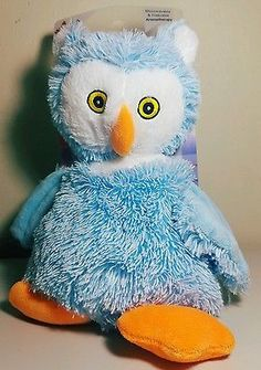 Bead Buddies! Baby Blue Owl Bead Buddies Hot and Cold Aromatherapy.