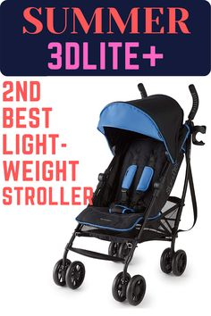The Summer Infant 3Dlite+ Convenience Stroller has an aluminum frame and weighs only 14 pounds. It is durable with premium fabrics and stitching. It has also parent friendly features like cup holder, cell phone holder, zip close storage pocket etc. Its compact one hand fold with padded carry strap make it an ideal option for all day tours. #Summer3Dlite+ #BestLightweightStroller #BestBabyStroller #BabyStroller #BestUmbrellaStroller #Stroller Best Lightweight Stroller, Best Baby Strollers, D Lite, Best Umbrella, Umbrella Stroller, Travel System, Cell Phone Holder, Summer Baby, Day Tours