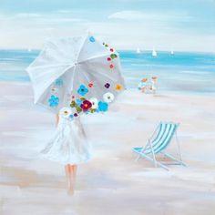 Op het strand https://www.schilderijenshop.com/strand-leven-schilderijen/schilderij-strand-100x100