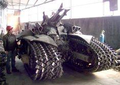 Strange Military Vehicles | STRANGE MILITARY EQUIPMENT - NASTY TRACKED ARMORED VEHICLE!
