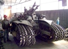 Strange Military Vehicles | STRANGE MILITARY EQUIPMENT - NASTY TRACKED ARMORED VEHICLE!