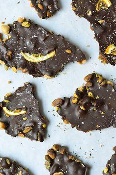 Natural Gourmet Institute, chocolate bark, for Best Self Magazine