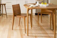 Newport table and Barrington chair by Dunn Studio