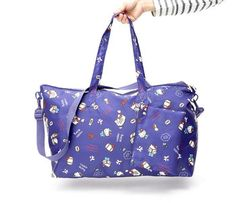 a58ed3f8b Hello Kitty Foldable Overnight Bag: Big Adventure Sanrio, Holiday List, Gym  Bag,