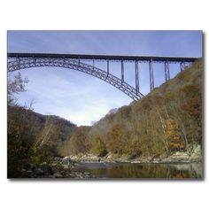 New River George Bridge Post Cards