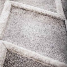 Diamond Patchwork Cowhide Rug: Each hide used to make the rugs is one-of-a-kind, hand selected for beauty and top quality by Buenos Aires based Yerra Rugs.
