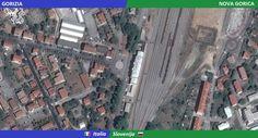 Confini amministrativi - Riigipiirid - Political borders - 国境 - 边界: 2014 IT-SI Itaalia-Sloveenia Italia-Slovenia Siena, Slovenia, City Photo, Nova, Politics, Italia