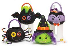 Cute Halloween Baskets $24 - Personalized