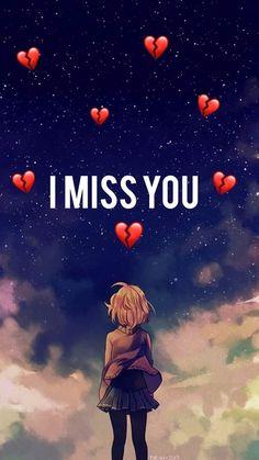 I Miss You Wallpaper, Sad Wallpaper, Heart Wallpaper, I Missed, Anime Love, Aesthetic Wallpapers, Like4like, War, Blog