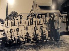 The original 12 African American firefighters