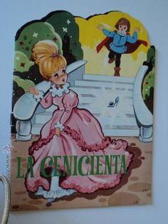 ANTIGUO CUENTO TROQUELADO LA CENICIENTA (Libros de Segunda Mano - Literatura Infantil y Juvenil - Cuentos)