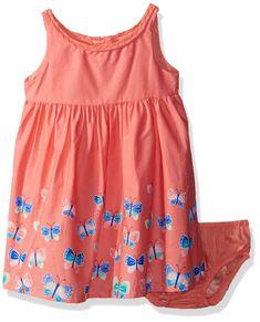 Children/'s Place NEW Summer Tie Dye Ruffle Baby Girls Toddlers Dress 12-18mo