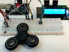 Fidget Spinner RPM Counter