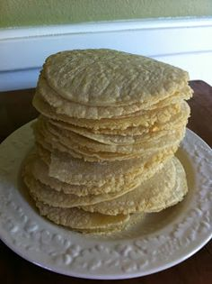 Simple Graceful Living: You Can Do It... Homemade Corn Tortillas- gluten free!