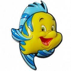 c5974ad5dc24f4 Disney Happy  Flounder  Jibbitz Croc Charms