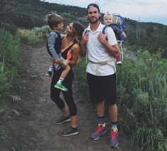 Hiking family goals