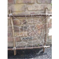 making mini cob webs Outdoor Education, Outdoor Learning, Outdoor Activities, Activities For Kids, Early Education, Eyfs Outdoor Area, Outdoor Fun, Forest School Activities, Camping Parties