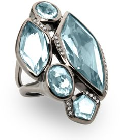 Ippolita Wicked 5-Stone Blue Topaz Ring