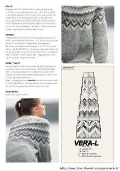 Sie fand ein Foto im Internet und präsentierte viele & & Fair Isle Knitting Patterns, Sweater Knitting Patterns, Arm Knitting, Knitting Charts, Knitting Designs, Knitting Stitches, Knit Patterns, Christmas Knitting, Vintage Knitting