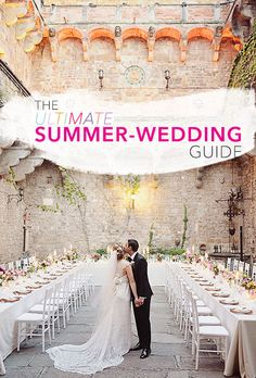 The Ultimate Summer-Wedding Guide.
