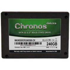Mushkin Chronos Deluxe 240 GB SATA 6.0 Gb-s 2.5-Inch Solid State Drive (MKNSSDCR240GB-DX) Mushkin Chronos deluxe SSDs provide the highest level of performance...