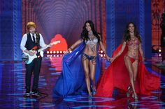 Adriana Lima shared the honor of wearing the Fantasy Bra at the 2014 Victoria's Secret runway show with Alessandra Ambrosio. Photo: Fashionstock.com / Shutterstock.com