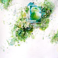 'my beautiful world' - Scrapbook.com