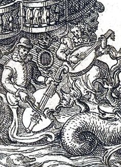 Figure de la Fontaine – Jacques Patin – Balet comique de la Royne – Gallica 2010 – detail with Beaulieu & Doria (adjusted).The Ballet Comique de la Reine was a court entertainment, now considered to be the first ballet de cour. It was staged in Paris, France, in 1581 for the court of Catherine de' Medici.