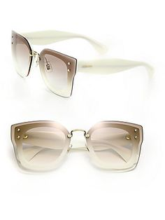e83485cb5e Miu Miu - Layered Pilot 67MM Sunglasses. Boot JewelrySunglasses WomenMiu  Miu GlassesEyeglassesTrendy DressesManolo ...
