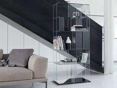 Libreria in cristallo B-CUBIC - Bonaldo