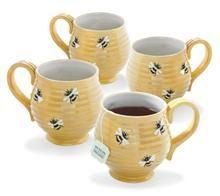 Honey Bee Mugs by Bigelow Tea Honey Bee Home, Hives And Honey, Honey Bees, Buy Tea Online, I Love Bees, Tea Art, My Cup Of Tea, Save The Bees, Bee Happy
