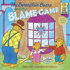 The Berenstain Bears and the Blame Game by Stan Berenstain https://www.amazon.com/dp/0679887431/ref=cm_sw_r_pi_dp_x_7oVXybAG0MDM7