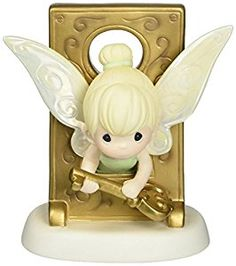 Disney's Tinker Bell precious moments CLICK HERE to buy on Amazon #peterpan #hallmark #amazonprime