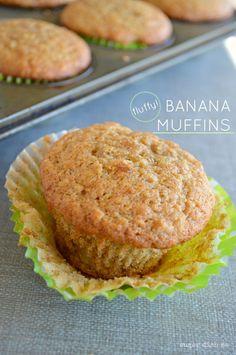 Fluffy Banana Muffins