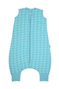 Baby Sleeping Bag with Feet approx. 2.5 Tog - Teal Stars - 18-24 months/35inch - $33.99