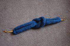 Bracelet noeud marin tricotin avec explications